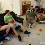 FraternityX Frat Boys With Big Cocks Bareback Gangbang Amateur Gay Porn 03 150x150 Straight Texas Fraternity Guys In an Amateur Bareback Gangbang