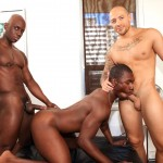 Next Door Ebony Jordano Santoro and Jay Black and Damian Brooks Interracial Gay Fucking Threeway Amateur Gay Porn 10 150x150 Interracial Muscle Couple Picks Up A Black Muscle Stud In The Park