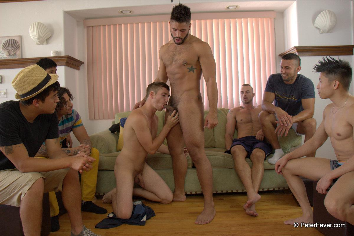 PeterFever-S5E13-We-Dare-You-Dayton-OConnor-and-Trey-Turner-Big-Cock-Guys-Fucking-Amateur-Gay-Porn-05 Amateur Muscle Orgy featuring an Asian Guy With A Big Thick Asian Cock
