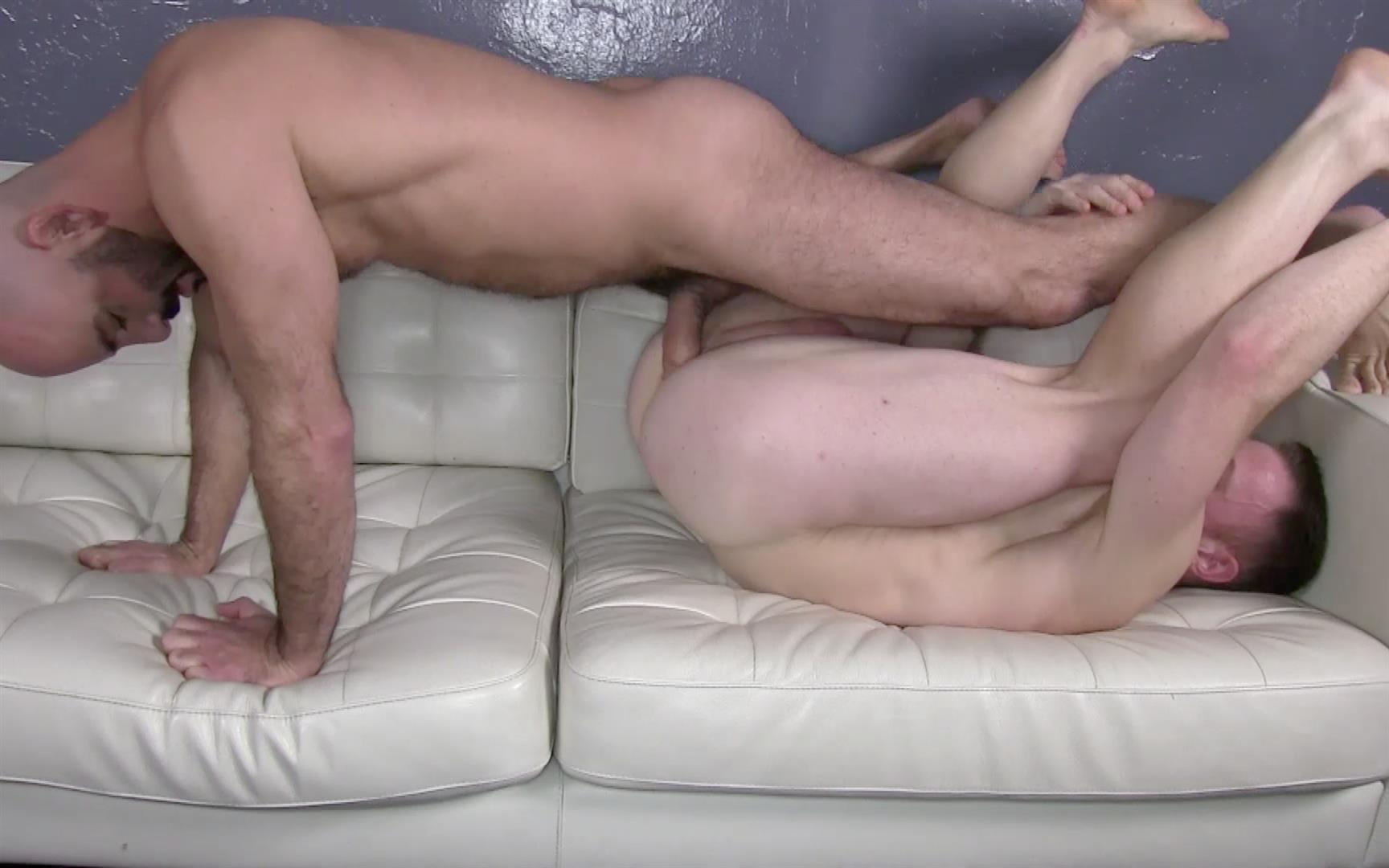 Raw Fuck Club Adam Russo and Saxon West masculine guys barebacking Amateur Gay Porn 2 Red Headed Muscle Hunk Saxon West Takes A Big Raw Cock Up The Ass