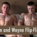 Active Duty Tim and Wayne Muscle Army Guys Flip Flop Barebacking Amateur Gay Porn 21 150x150 Real Straight Muscle Army Guys Flip Flop Bareback Fucking