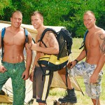Visconti Triplets Jason Visconti Jimmy Visconti Joey Visconti Giuseppe Pardi Fucking During A Camping Trip Amateur Gay Porn 01 150x150 Visconti Triplets Tag Team Some Muscle Ass While Camping