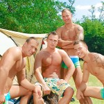 Visconti Triplets Jason Visconti Jimmy Visconti Joey Visconti Giuseppe Pardi Fucking During A Camping Trip Amateur Gay Porn 02 150x150 Visconti Triplets Tag Team Some Muscle Ass While Camping