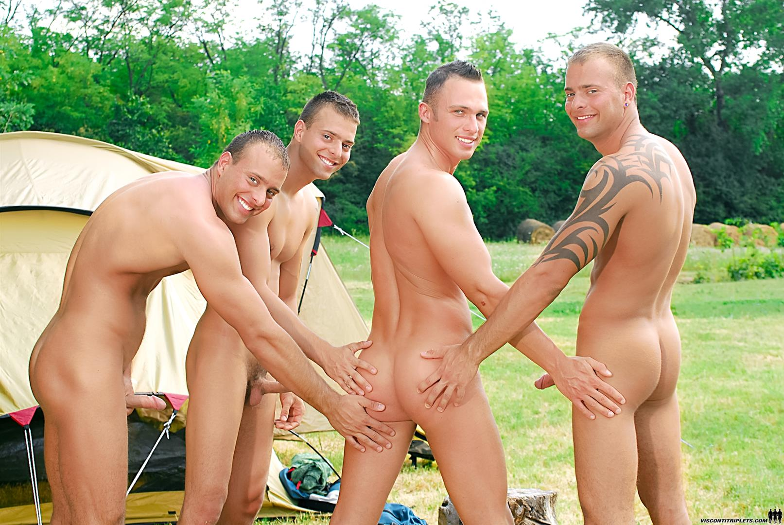 from Waylon gay porn while camping