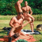 Visconti Triplets Jason Visconti Jimmy Visconti Joey Visconti Giuseppe Pardi Fucking During A Camping Trip Amateur Gay Porn 51 150x150 Visconti Triplets Tag Team Some Muscle Ass While Camping