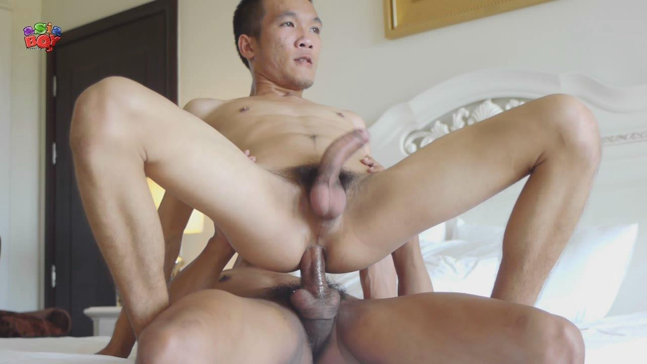 Asian twink barebacked by two doctors 4