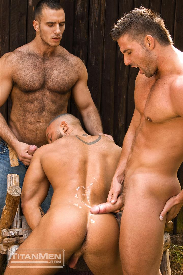 TitanMen-Cum-Shots-from-Hairy-Muscle-Hunks-Amateur-Gay-Porn-4 One Video and A Gallon Of Hot Cum