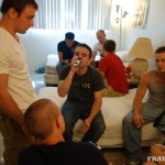 Fraternity X 5 Frat Guys Barebacking A Tight Ass Breeding BBBH Amateur Gay Porn 02 150x150 Fraternity Jock Takes Five Bareback Loads Up The Ass