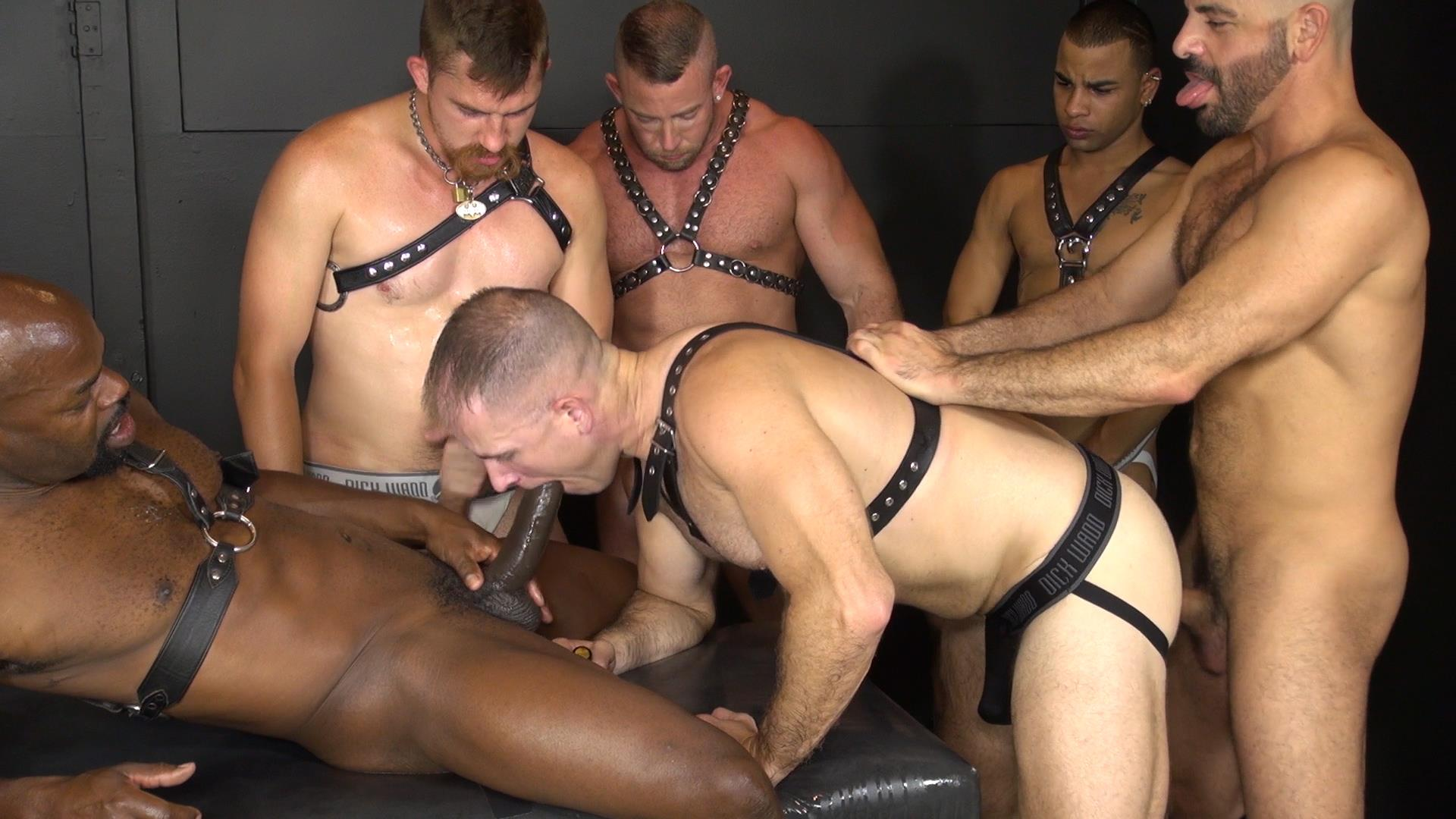 Interracial Gay Orgy 65