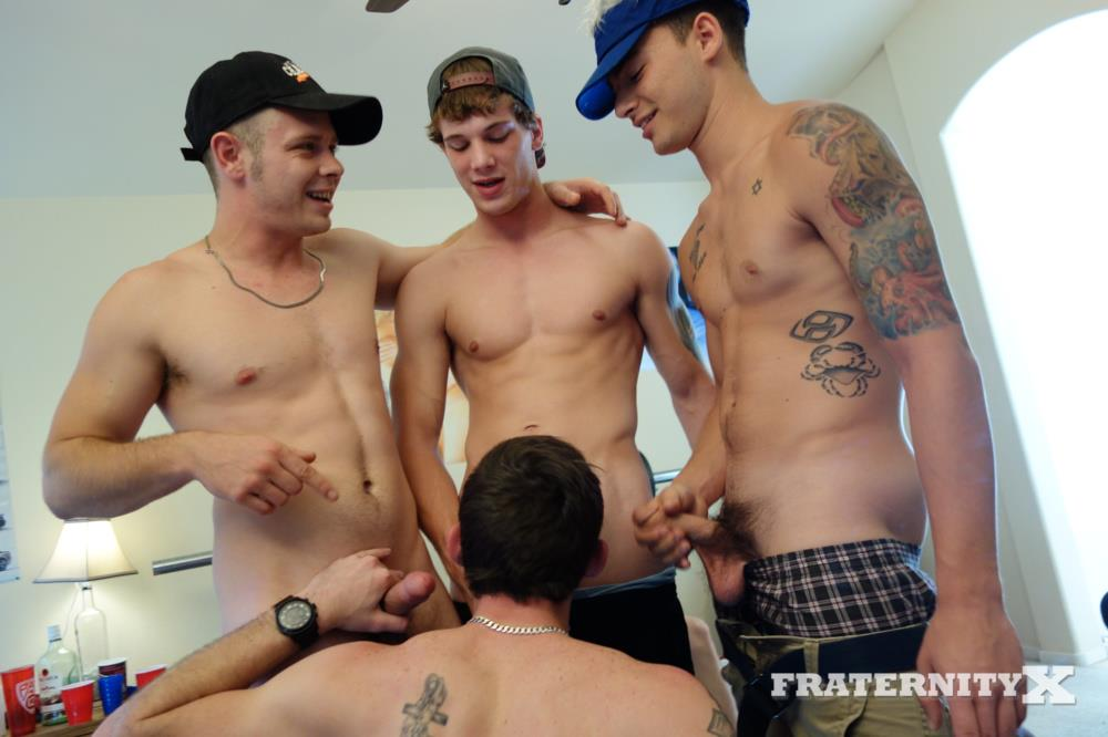 Fraternity X Straight Frat Guys With Big Cocks Barebacking A Tight Ass Amateur Gay Porn 28 Straight Frat Guys Barebacking A Tight Freshman Ass