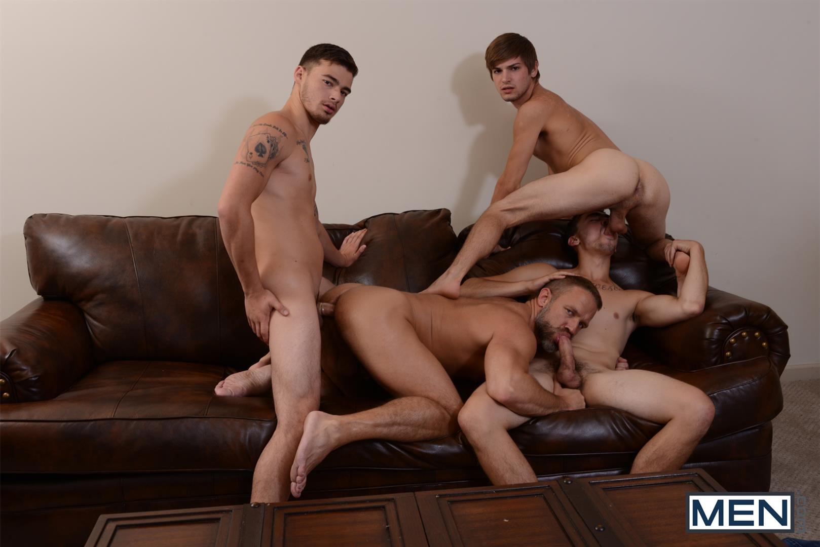 Men Jizz Orgy Asher Hawk and Dirk Caber and Johnny Rapid and Trevor Spade Triple Penetrated In the Ass Amateur Gay Porn 17 Stepfather Dirk Caber Gets TRIPLE Penetrated By His Stepsons