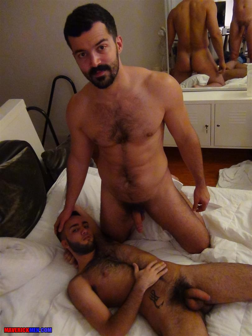 Maverick Men Little Wolf Hairy Guy With Big Uncut Cock Getting Barebacked By Two Daddies Gay Porn 03 Hairy Ass Young Guy Getting Barebacked By The Maverick Men