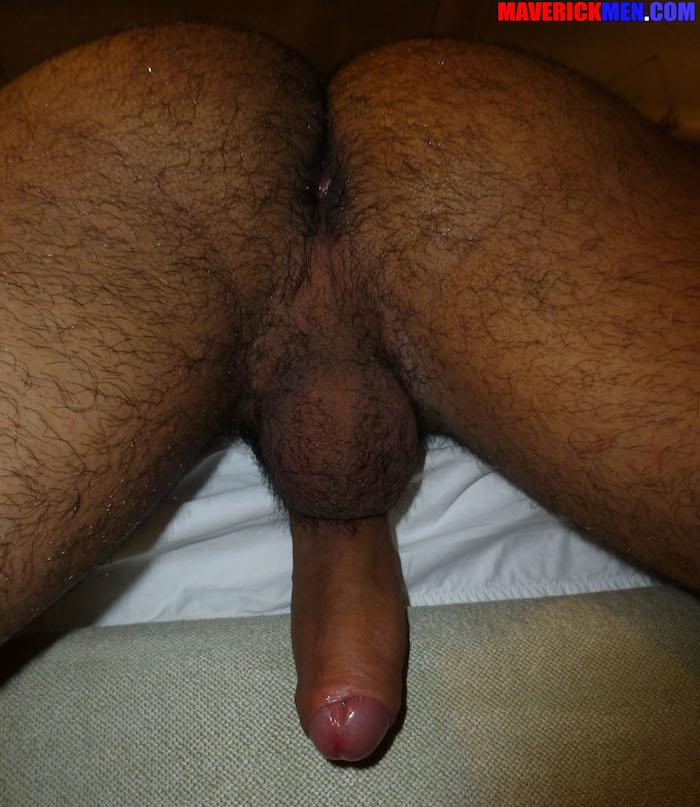 Maverick Men Little Wolf Hairy Guy With Big Uncut Cock Getting Barebacked By Two Daddies Gay Porn 08 Hairy Ass Young Guy Getting Barebacked By The Maverick Men