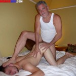 Maverick Men Lucas Two Daddies Barebacking A Young Hairy Stud Cum Facial BBBH Amateur Gay Porn 21 150x150 Young Guy Getting Barebacked And A Facial From Hairy Muscle Men