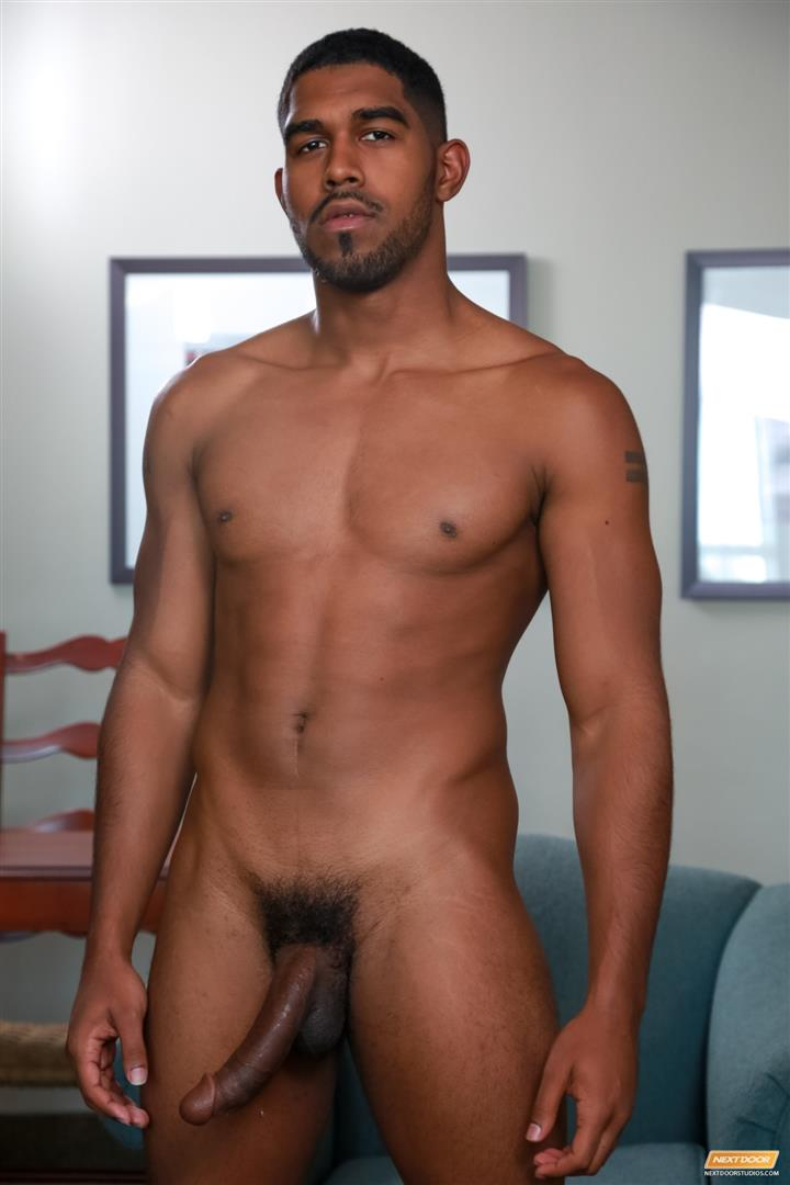 Next Door Ebony Damian Brooks and XL and Andre Donovan Black Naked Men Fucking Amateur Gay Porn 06 Three Naked Black Men, Three Big Black Cocks, One Juicy Booty