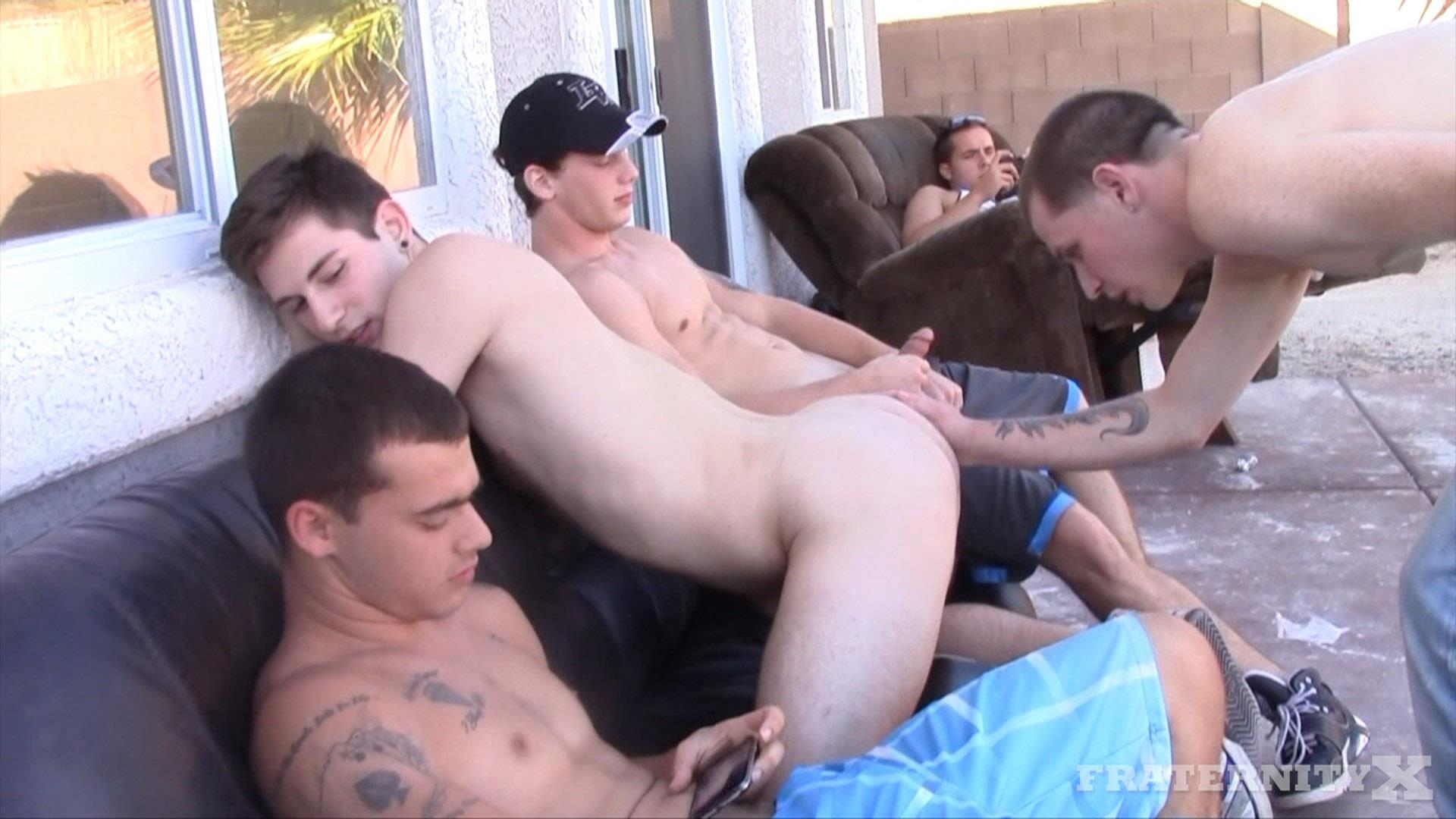 Fraternity-X-Frenchy-Naked-Frat-Guys-Barebacking-Outside-Big-Dicks-Amateur-Gay-Porn-05 Fraternity Boys Fucking Bareback Outside On The Frat Patio