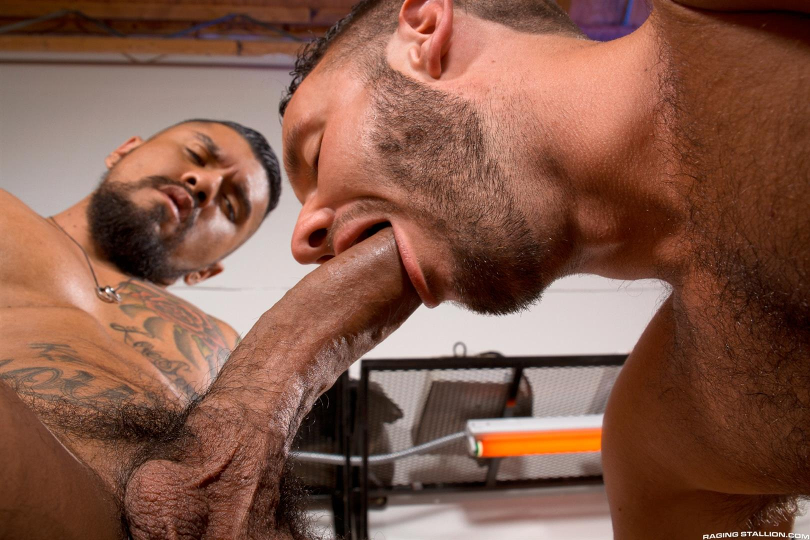 Raging-Stallion-Boomer-Banks-and-Aaron-Steel-Big-Uncut-Cocks-Fucking-Amateur-Gay-Porn-07 Boomer Banks Fucking Aaron Steel With His Huge Uncut Cock