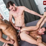 Lucas Entertainment Zander Craze and Damon Heart and Viktor Rom Big Uncut Cock Bareback Threesome Amateur Gay Porn 03 150x150 Two Big Uncut Cock Tops Sharing A Bottoms Hungry Hole