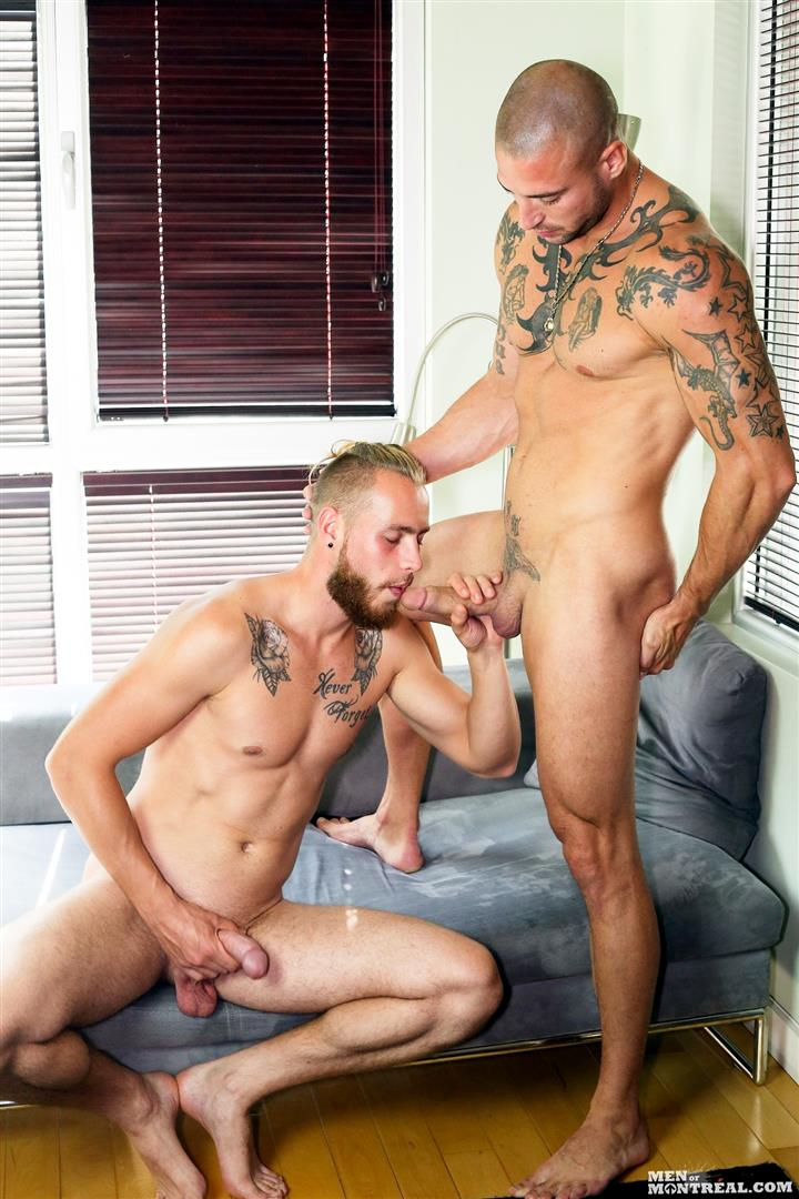 Men-of-Montreal-Kyle-Champagne-and-Derek-Thibeau-Big-Uncut-Cocks-Fucking-Amateur-Gay-Porn-01 Kyle Champagne Takes A Big Uncut Cock Up The Ass