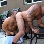 Dudes Raw Alessio Romero and Mario Cruz Bareback Muscle Daddy Latino Amateur Gay Porn 35 150x150 Muscle Daddy Alessio Romero Gets Bred By Mario Cruz