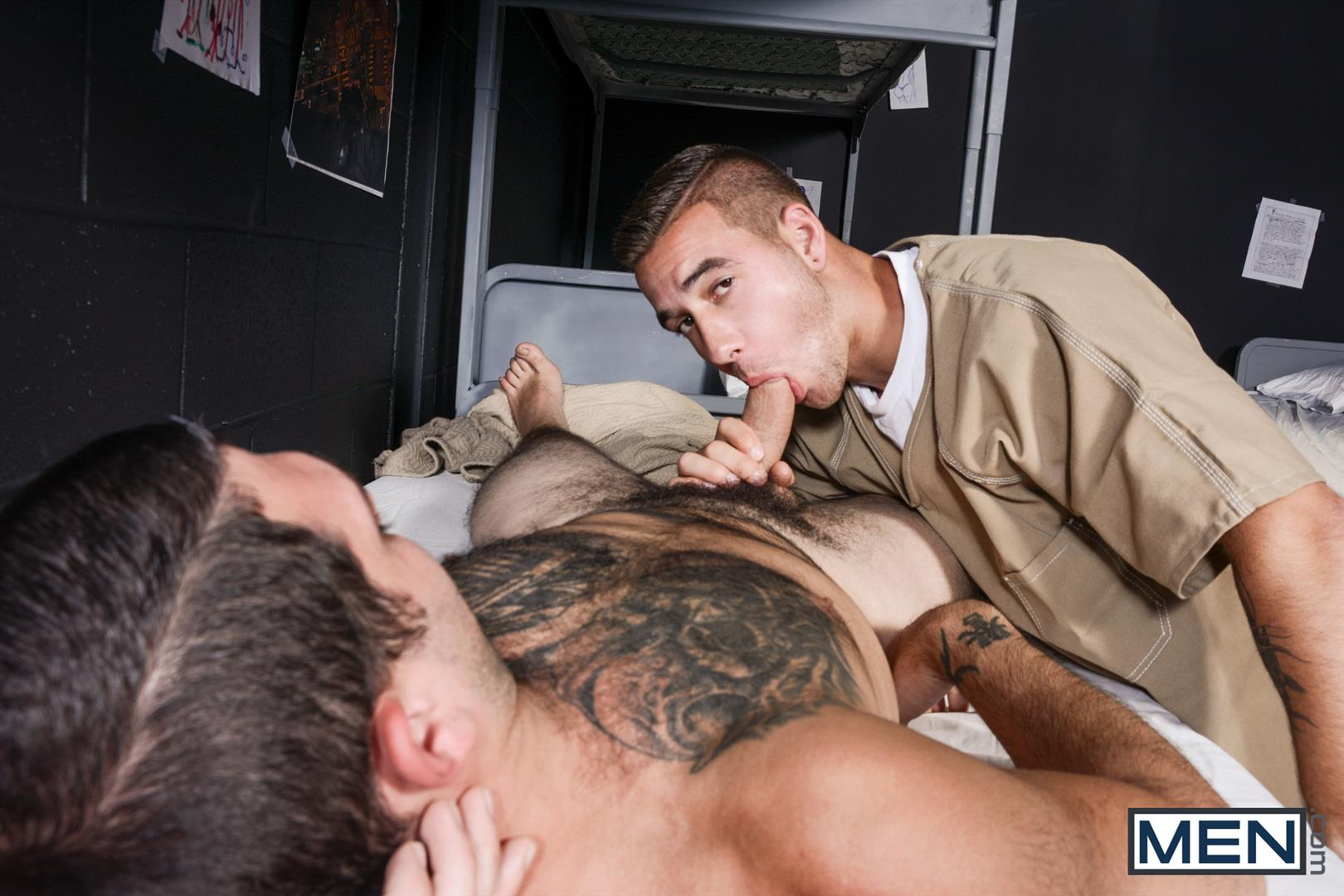 Men-Tony-Paradise-and-Dimitri-Kane-Straight-Men-Having-Sex-in-Prison-Amateur-Gay-Porn-11 Learning How To Survive In Prison By Taking Cock