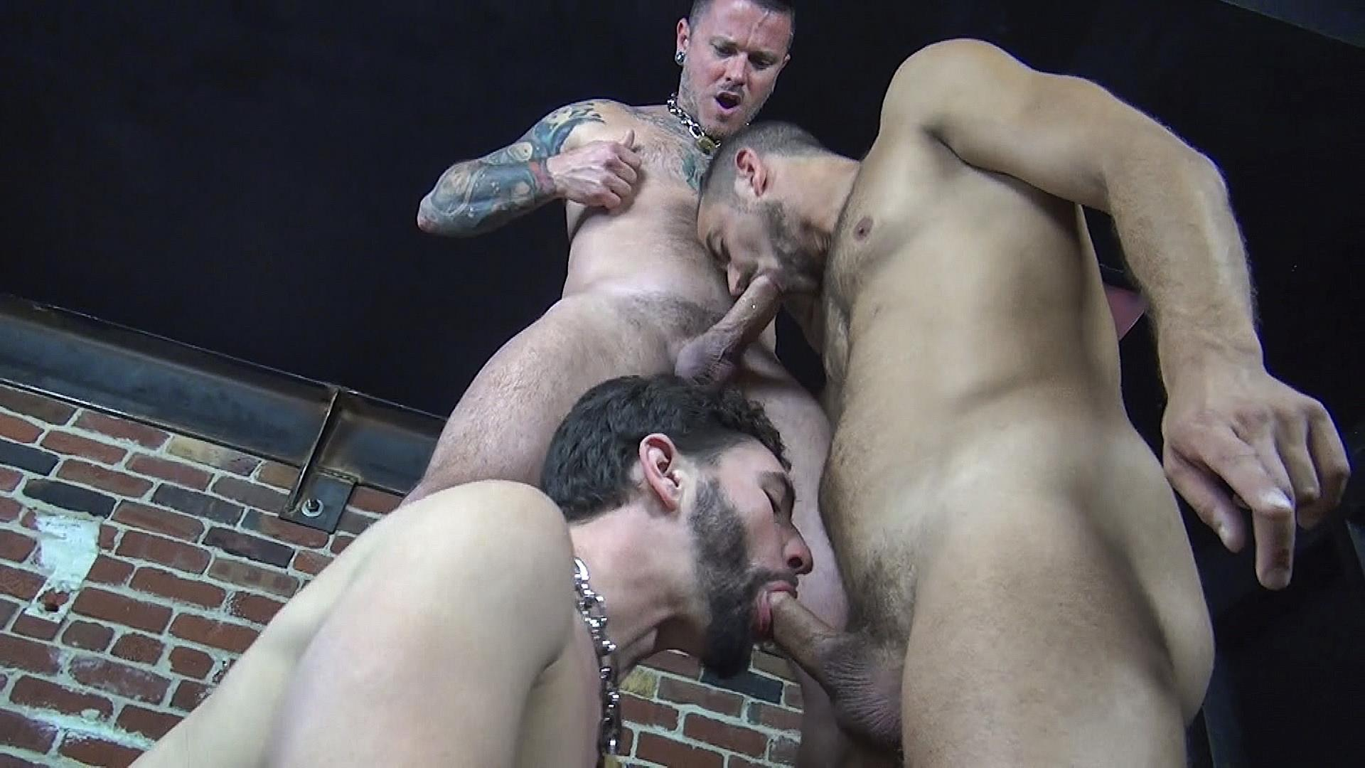 Raw Fuck Club Max Cameron and Jackson Fillmore and Leon Fox Bareback Double Penetration Amateur Gay Porn 10 Getting Double Penetrated Bareback By A Big Uncut Cock