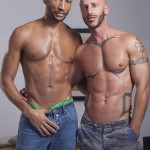 Fuckermate Buster Sly and Aymeric Deville Interracial bareback fucking Amateur Gay Porn 01 150x150 Interracial Bareback Breeding With Buster Sly and Aymeric Deville