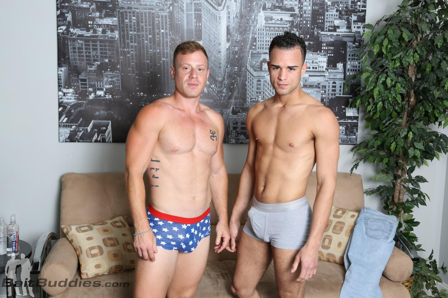 Bait Buddies Saxon and Javier Cruz Straight Ginger With Thick Cock Amateur Gay Porn 03 Straight Beefy Ginger Fucks His First Man Ass For Cash
