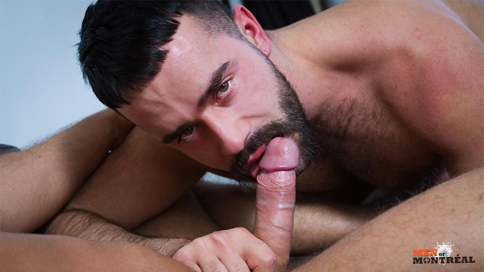 Men of Montreal Teddy Torres and Mateo Amateur Gay Porn 07 Hairy Muscle Jock Teddy Torres Gets His Hairy Ass Plowed Deep