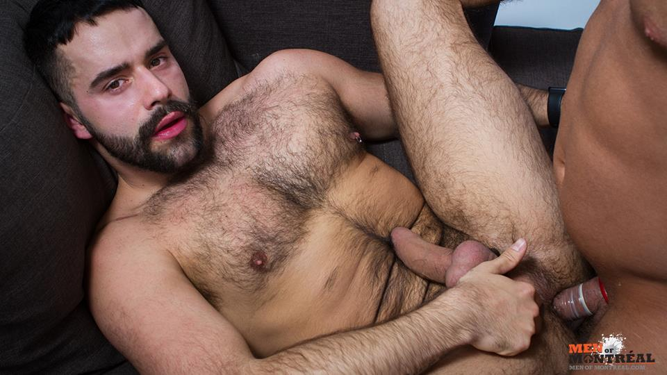 Men of Montreal Teddy Torres and Mateo Amateur Gay Porn 18 Hairy Muscle Jock Teddy Torres Gets His Hairy Ass Plowed Deep