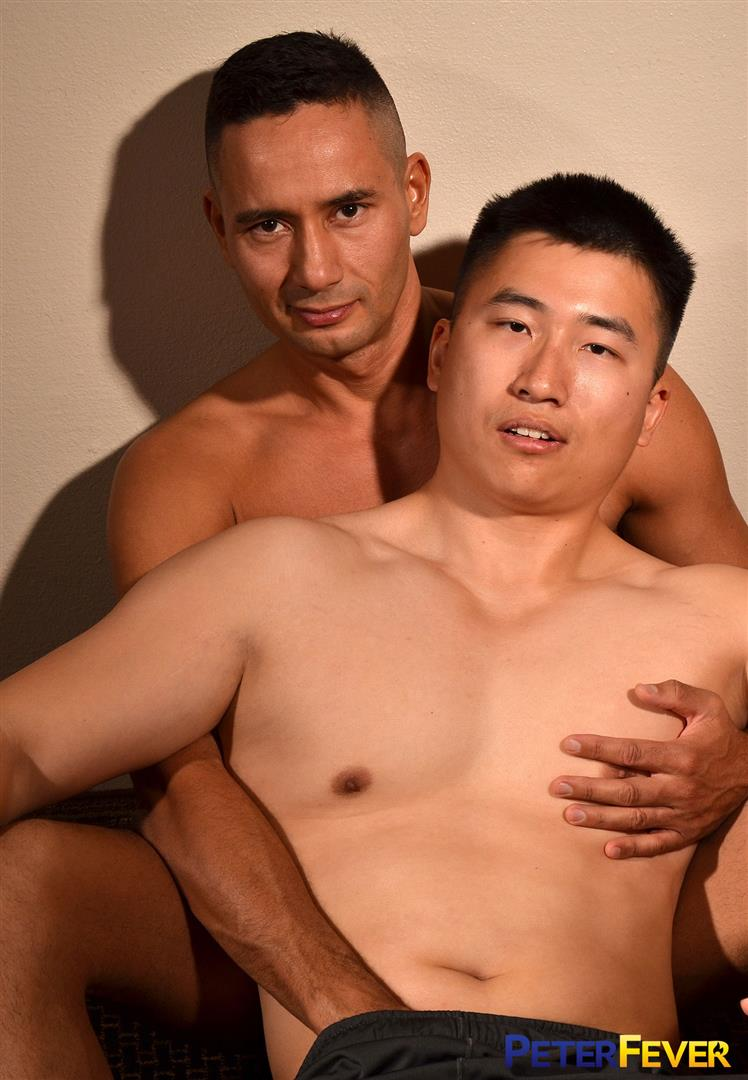 Peter Fever Gabe and Kai Chinese Boy Gets Fucked With Big Dick 01 Gay Chinese Boy Takes A Big White Cock Up The Ass