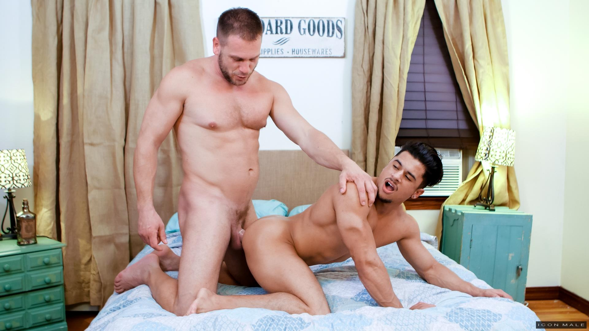 Icon-Male-Armond-Rizzo-and-Hans-Berlin-Gay-Guys-Fucking-10 Armond Rizzo Gets Fucked By Big Uncut Daddy Dick Hans Berlin